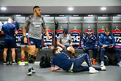 Tusi Pisi (capt) looks on in the Bristol Rugby dressing room - Rogan/JMP - 22/12/2017 - RUGBY UNION - Ashton Gate Stadium - Bristol, England - Bristol Rugby v Cornish Pirates - Greene King IPA Championship.