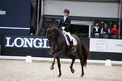 Vittinghus Selina Solberg, DEN, Atterupgaards Botticelli<br /> Longines FEI/WBFSH World Breeding Dressage Championships for Young Horses - Ermelo 2017<br /> © Hippo Foto - Dirk Caremans<br /> 04/08/2017