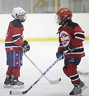 Newburgh, New York - Ice hockey at Ice Time Sports Complex on Nov. 21, 2010.
