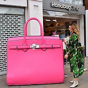 Handbag Clinic - relaunch at 382 King's Road on 4 September 2019, London, UK.