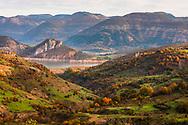 Kardzhali lake at autumn time
