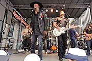 """Photos of the country duo Montgomery Gentry performing on the FOX & Friends """"All American Concert Series"""" at FOX News studios, NYC. May 25, 2012. Copyright © 2012 Matthew Eisman. All Rights Reserved."""
