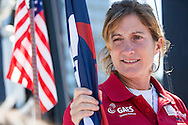 IMOCA Ocean Masters. New York - Barcelona Race start. Pictures of Gaes Sailing Team Hugo skipper Anna Corbella (ESP) <br />  Credit: Mark Lloyd/Lloyd Images
