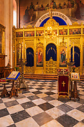 The altar in the Church of the Holy Annunciation, Dubrovnik, Dalmatian Coast, Croatia