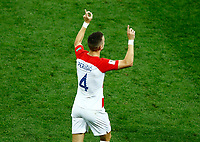 Ivan Perisic (Croatia) celebrates after 1-1<br /> Moscow 15-07-2018 Football FIFA World Cup Russia  2018 Final / Finale <br /> France - Croatia / Francia - Croazia <br /> Foto Matteo Ciambelli/Insidefoto