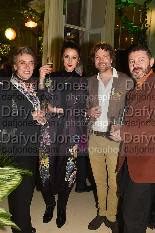 ROSANNA FALCONER, ROBBIE HONEY; SVTESLAV KOHCHGAR, The Datai Langkawi Relaunch event, Spring, Somerset House,  London. 1 March 2018