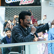 London,England,UK, 20th Aug 2016 : Anil Kapoor star of the Season 2 '24' colour visit London's East Shopping Centre cheer by hundreds of fan in London,UK. Photo by See Li/Picture Capital