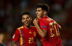 September 11, 2018 - Elche, Spain - Marco Asensio of Spain celebrates after scoring his sides first goal during the UEFA Nations League football match between Spain and Croatia at Martinez Valero Stadium in Elche, Spain on September 8, 2018. (Credit Image: © Jose Breton/NurPhoto/ZUMA Press)