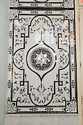 Decorative tiles in Nuzha mosque, Jaffa, Israel