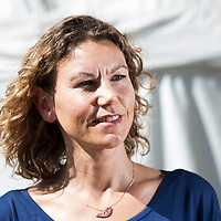 Kate Tough at the Edinburgh International Book Festival, Charlotte Square Gardens, Edinburgh, 17 August 2015<br /> <br /> Picture by Russell Gray Sneddon / Writer Pictures