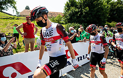 Tadej POGACAR of UAE TEAM EMIRATES during 1st Stage of 27th Tour of Slovenia 2021 cycling race between Ptuj and Rogaska Slatina (151,5 km), on June 9, 2021 in Slovenia. Photo by Vid Ponikvar / Sportida