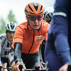 PIETERS Amy ( NED ) – Boels - Dolmans Cycling Team ( DLT ) - NED – Querformat - quer - horizontal - Landscape - Event/Veranstaltung: Liège Bastogne Liège - Category/Kategorie: Cycling - Road Cycling - Elite Women - Elite Men - Location/Ort: Europe – Belgium - Wallonie - Liège - Start: Bastogne-Womens Race - Liège-Mens Race - Finish: Liège - Discipline: Road Cycling - Distance: 257 km - Mens Race - 135 km - Womens Race - Date/Datum: 04.10.2020 – Sunday - Photographer: © Arne Mill - frontalvision.com