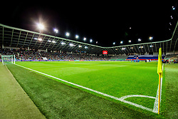 Stadium during the 2020 UEFA European Championships group G qualifying match between Slovenia and Israel at SRC Stozice on September 9, 2019 in Ljubljana, Slovenia. Photo by Ziga Zupan / Sportida