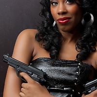 Taesia Steele is Ms Foxy as featured in Foxfire International comic.