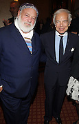 l to r: Bruce Weber and Ralph Lauren at ' The Celebrating Fashion ' A Gala Benefit to support the Gordon Parks Foundation held at Gotham Hall on June 2, 2009 in New York City. ..The Gordon Parks Foundation-- created to preserve the work of groundbreaking African American Photographer and honor others who have dedicated their lives to the Arts--presents the Gordon Parks Award to four Artists who embody the principals Parks championed in his life.
