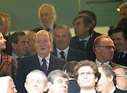 042314 King Juan Carlos during Real Madrid v Bayern Munich