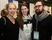 31/01/2018  retro free : Sara Myrberg from Sweeden The Theatre Alliance with  Barbara Malecka, and Pawel Galkowski both from Children's Art Centre in Poznan  at the launch of Wide Eyes, a unique one-off European arts extravaganza for babies and children aged 0 – 6. Hosted by Baboró, Wide Eyes will take place in Galway till Sun 4 February. This imaginative programme will feature 15 new theatre and dance shows from some of Europe's finest creators of Early Years work from Austria, Belgium, Denmark, Finland, France, Germany, Hungary, Italy, Poland, Romania, Slovenia, Spain, Sweden, UK and Ireland. For more see www.wideeyesgalway.ie<br /> <br /> Wide Eyes will welcome almost 200 artists and arts professionals from almost 20 countries to enthral and engage children over four jam-packed days. Photo:Andrew Downes, XPOSURE
