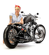 Darwin Motorcycle's Brass Ball Bobber Model 1