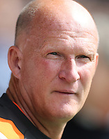 Blackpool manager Simon Grayson <br /> <br /> Photographer Rob Newell/CameraSport<br /> <br /> The EFL Sky Bet Championship - Southend United v Blackpool - Saturday 10th August 2019 - Roots Hall - Southend<br /> <br /> World Copyright © 2019 CameraSport. All rights reserved. 43 Linden Ave. Countesthorpe. Leicester. England. LE8 5PG - Tel: +44 (0) 116 277 4147 - admin@camerasport.com - www.camerasport.com