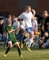 Girls varsity soccer Gilford versus Monadnock October 26, 2010.
