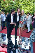 NABIL ZAOUK; TIM JEFFERIES; MALIN JEFFERIES, The Summer Party. Serpentine Gallery. 8 July 2010. -DO NOT ARCHIVE-© Copyright Photograph by Dafydd Jones. 248 Clapham Rd. London SW9 0PZ. Tel 0207 820 0771. www.dafjones.com.