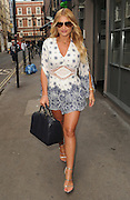 EXCLUSIVE<br /> Billie Faiers back for Dubai for her high summer In the Style collection in London<br /> ©Exclusivepix Media