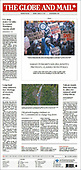 March 15, 2021 (CANADA): Front-page: Today's Newspapers In Canada