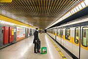 Milan , empty metro