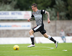 Elgin City's Daryl McHardy.  <br /> East Fife 2 v 1 Elgin City, Ladbrokes Scottish Football League Division Two game played 22/8/2015 at East Fife's home ground, Bayview Stadium.