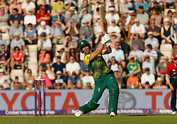 South Africa's AB De Villiers during the1st NatWest T20 Blast match at the Ageas Bowl, Southampton.