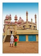 The Pink Mosque - Kerala