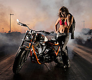 Photo shoot for Darwin Motorcycles of their custom built Brawler motorcycles built for the singer Usher