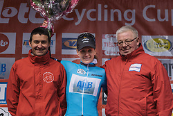 Emma Johansson retains her lead in the Lotto Cycling Cup GPM competition - Le Samyn des Dames 2016, a 113km road race from Quaregnon to Dour, on March 2, 2016 in Hainaut, Belgium.