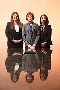 SHOT 12/4/19 11:35:24 AM - McGuane & Hogan, P.C., a Colorado family law firm located in Denver, Co. Includes attorneys Kathleen Ann Hogan, Halleh T. Omidi and Katie P. Ahles. (Photo by Marc Piscotty / © 2019)