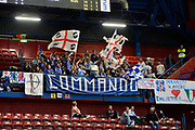 DESCRIZIONE : Beko Final Eight Coppa Italia 2016 Serie A Final8 Quarti di Finale Vanoli Cremona - Dinamo Banco di Sardegna Sassari<br /> GIOCATORE : Commando Ultra' Dinamo<br /> CATEGORIA : Ultras Tifosi Spettatori Pubblico<br /> SQUADRA : Dinamo Banco di Sardegna Sassari<br /> EVENTO : Beko Final Eight Coppa Italia 2016<br /> GARA : Quarti di Finale Vanoli Cremona - Dinamo Banco di Sardegna Sassari<br /> DATA : 19/02/2016<br /> SPORT : Pallacanestro <br /> AUTORE : Agenzia Ciamillo-Castoria/L.Canu