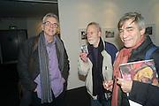 PAUL HILL; MICK WILLIAMS; JULAO ETCHART, 2013 London Art Fair vip private view.  Business Design Centre, Upper Street, London, 15 January 2013