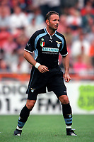 Sinisa Mihajlovic - Lazio. Ajax v Lazio. The Amsterdam Tournament. Amsterdam Arena, 3/8/2000. Credit: Colorsport / Stuart MacFarlane.
