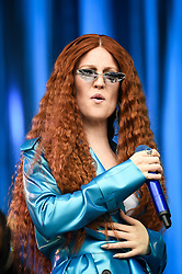 Jess Glynne performs during the first day of BBC Radio 1's Biggest Weekend at Singleton Park, Swansea.
