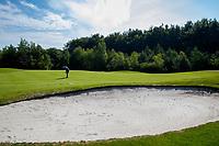 NIJEMIRDUM - Hole 2. Golfclub Gaasterland ligt in Zuidwest-Friesland en heeft een schitterende 9 holes natuurbaan. COPYRIGHT KOEN SUYK