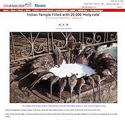 A gallery off my trip to Karni Mata near Bikaner on Chinese news site http://english.cri.cn.