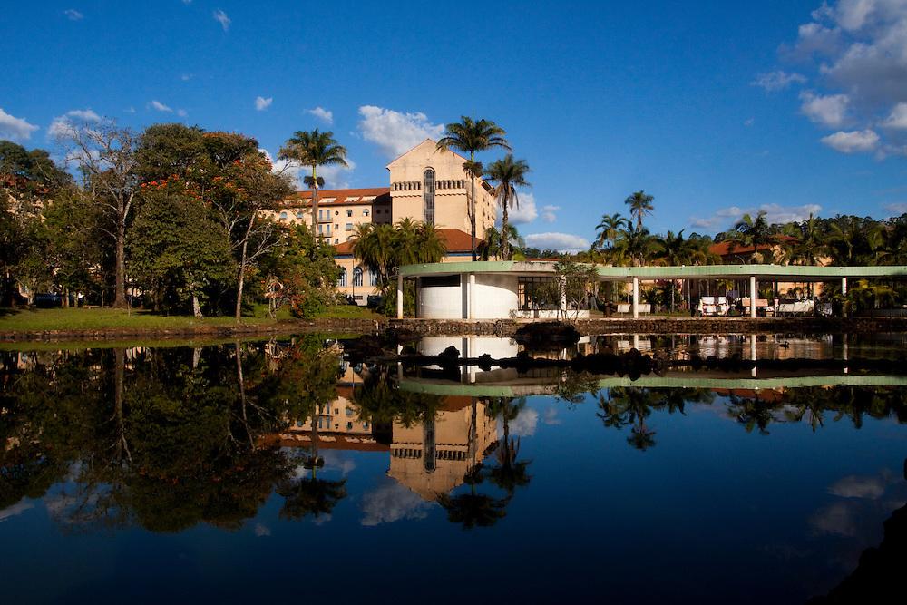 Araxa_MG, Brasil...Ouro Minas Grande Hotel no Complexo do Barreiro...Ouro Minas Grande Hotel in Barreiro Complex...Foto: MARCUS DESIMONI / NITRO