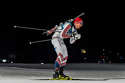 February 18, 2018 - Pyeongchang, Gangwon, South Korea - Andrejs Rastorgujevs of  Latvia  competing in  15 km mass start biathlon at Alpensia Biathlon Centre, Pyeongchang,  South Korea on February 18, 2018. (Credit Image: © Ulrik Pedersen/NurPhoto via ZUMA Press)