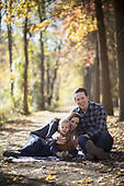 Fall Family Pictures: Lambertville Canal Path in Fall