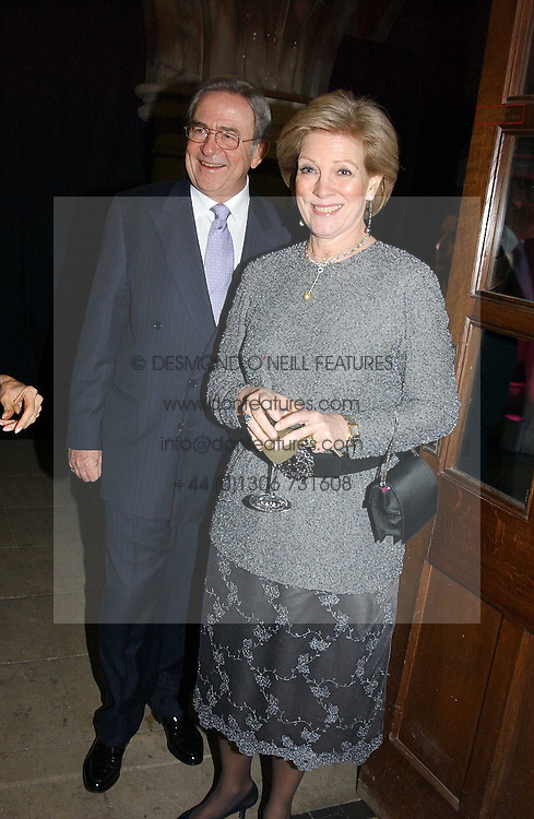 KING CONSTANTINE OF GREECE and  QUEEN ANNE-MARIE OF GREECE at The Magic of Winter ball in aid of the charity KIDS held at The Royal Courts of Justice, London on 2nd Ferbruary 2005.<br /><br />NON EXCLUSIVE - WORLD RIGHTS