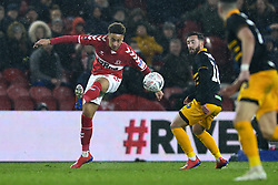 January 26, 2019 - Middlesbrough, North Yorkshire, United Kingdom - Middlesbrough's Marcus Tavernier in action during the FA Cup match between Middlesbrough and Newport County at the Riverside Stadium, Middlesbrough on Saturday 26th January 2019. (Credit Image: © Mi News/NurPhoto via ZUMA Press)