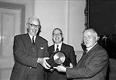 1965 - Presentation to Mr. Montague at the Shelbourne Hotel