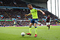 Aston Villa v Derby County - Sky Bet Championship<br /> BIRMINGHAM, ENGLAND - APRIL 28 :  Alex pearce, of Derby County, gets on the ball during the 1st half at Villa Park
