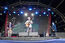 Jack Stark opens the main stage. Sunday at Party at the Palace 2017, Linlithgow.
