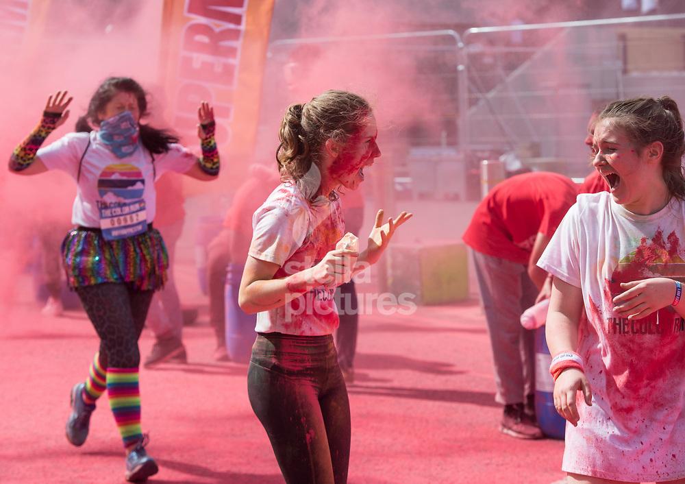 London, England, 11/06/17 - NSPCC The Colour Run London<br /> Pic by Daniel Hambury for Alex Broadway Photography