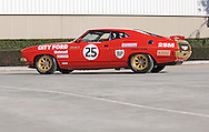 1975 Ford XB Falcon GT Hardtop ATCC City Ford Alan Moffat Replica - Moffat Red.Shot on location at Scorsby Industrial Estate, Melbourne, Victoria.17th April 2011.(C) Joel Strickland Photographics.Use information: This image is intended for Editorial use only (e.g. news or commentary, print or electronic). Any commercial or promotional use requires additional clearance.